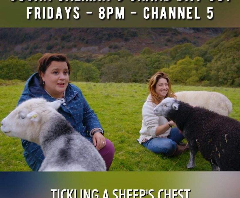 Susan Calman's Grand Day Out in The Lakes Friday 15th January at 8pm on Channel 5.